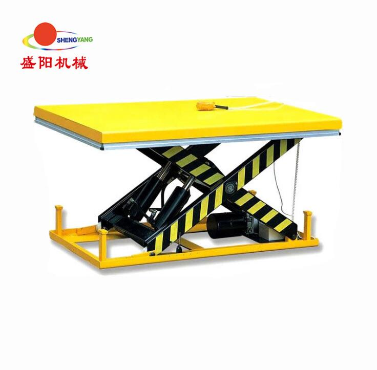Hydraulic Lift of Electric Lifting Platform