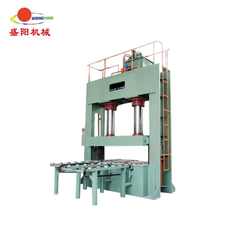 Woodworking machinery cold press