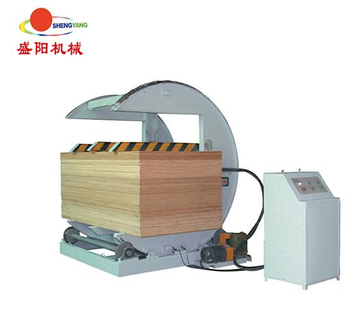 Panel overturning machine