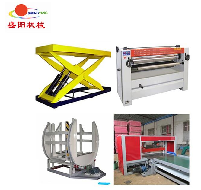Plywood equipment